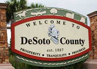 DeSoto Welcome Sign